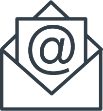 email icon thin